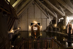 άλας ορυχείων λιμνών Στοκ Εικόνες