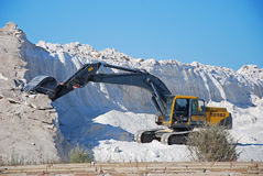 άλας ορυχείων μηχανημάτων Στοκ εικόνες με δικαίωμα ελεύθερης χρήσης