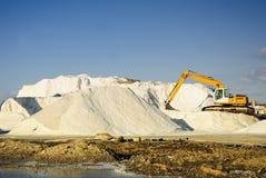 άλας ορυχείων μηχανημάτων Στοκ φωτογραφία με δικαίωμα ελεύθερης χρήσης