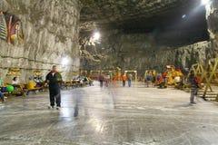 άλας ορυχείων Στοκ εικόνες με δικαίωμα ελεύθερης χρήσης