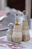 άλας πιπεριών πετρελαίο&upsilon Στοκ φωτογραφία με δικαίωμα ελεύθερης χρήσης