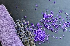 Άλατα λουτρών Στοκ Εικόνες