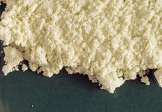 άλεσε το μακρο wasabi Στοκ φωτογραφία με δικαίωμα ελεύθερης χρήσης