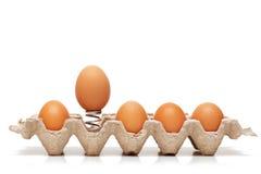 άλμα αυγών Στοκ εικόνα με δικαίωμα ελεύθερης χρήσης