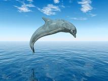 άλμα δελφινιών ελεύθερη απεικόνιση δικαιώματος