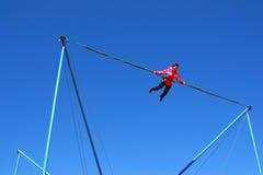 άλμα bungee στοκ φωτογραφία με δικαίωμα ελεύθερης χρήσης