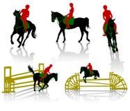 άλογα 1 Στοκ Εικόνες