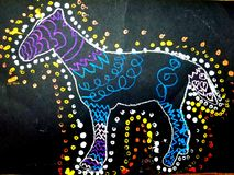 Άλογο από το Aubrey Στοκ Φωτογραφίες