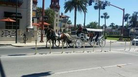 Άλογο και μεταφορά στοκ φωτογραφία με δικαίωμα ελεύθερης χρήσης
