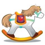 άλογο ξύλινο Ελεύθερη απεικόνιση δικαιώματος