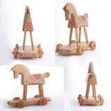 άλογο ξύλινο Στοκ Φωτογραφία