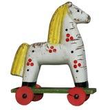 άλογο ξύλινο Στοκ φωτογραφίες με δικαίωμα ελεύθερης χρήσης