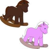Άλογο παιχνιδιών διανυσματική απεικόνιση