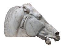 άλογο της Αθήνας parthenon selene στοκ φωτογραφίες