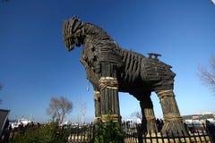 άλογο τρωικό Στοκ Φωτογραφία