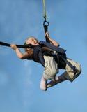 άλτης bungee μίνι Στοκ εικόνα με δικαίωμα ελεύθερης χρήσης
