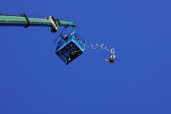 άλτης bungee Στοκ εικόνες με δικαίωμα ελεύθερης χρήσης