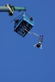άλτης bungee Στοκ φωτογραφίες με δικαίωμα ελεύθερης χρήσης