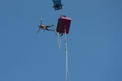 άλτης bungee Στοκ Φωτογραφίες