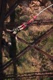 άλτης bungee 3 Στοκ Εικόνες