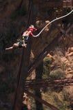άλτης bungee 4 Στοκ Εικόνα