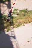 άλτης bungee 5 Στοκ Φωτογραφία