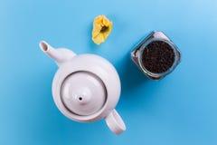 Άμεσα επάνω από την άποψη teapot στοκ φωτογραφία με δικαίωμα ελεύθερης χρήσης