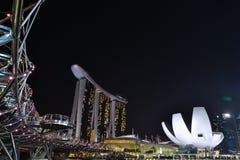 Άμμοι κόλπων μαρινών της Σιγκαπούρης Στοκ εικόνες με δικαίωμα ελεύθερης χρήσης