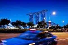 Άμμοι κόλπων μαρινών της Σιγκαπούρης Στοκ εικόνα με δικαίωμα ελεύθερης χρήσης