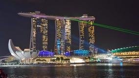 Άμμοι κόλπων μαρινών της Σιγκαπούρης Στοκ Φωτογραφία