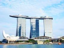 Άμμοι κόλπων μαρινών της Σιγκαπούρης Στοκ Εικόνες
