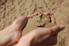 άμμοι χεριών Στοκ φωτογραφία με δικαίωμα ελεύθερης χρήσης