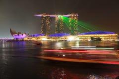 Άμμοι Marinabay, Σιγκαπούρη Στοκ Εικόνες
