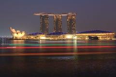 Άμμοι Marinabay, Σιγκαπούρη Στοκ Φωτογραφία