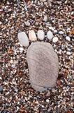 άμμος ίχνους Στοκ Εικόνες
