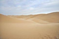 άμμος αμμόλοφων ερήμων Στοκ φωτογραφία με δικαίωμα ελεύθερης χρήσης