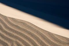 άμμος αμμόλοφων θυελλώδης Στοκ φωτογραφία με δικαίωμα ελεύθερης χρήσης