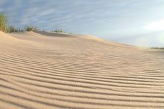 άμμος αμμόλοφων Στοκ φωτογραφία με δικαίωμα ελεύθερης χρήσης