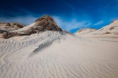 άμμος αμμόλοφων Στοκ Φωτογραφίες
