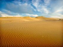 άμμος αμμόλοφων Στοκ Φωτογραφία
