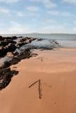 άμμος βελών Στοκ εικόνα με δικαίωμα ελεύθερης χρήσης