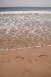 άμμος βημάτων Στοκ Εικόνες