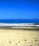 άμμος βημάτων Στοκ Φωτογραφίες