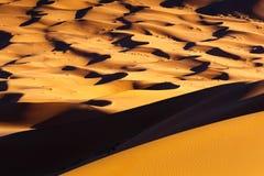 Άμμος ερήμων Σαχάρας Στοκ φωτογραφία με δικαίωμα ελεύθερης χρήσης