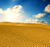 άμμος ερήμων Στοκ Φωτογραφία