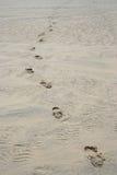 άμμος ιχνών Στοκ Φωτογραφίες