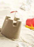 άμμος κάστρων παραλιών Στοκ φωτογραφίες με δικαίωμα ελεύθερης χρήσης