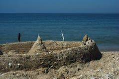 άμμος κάστρων Στοκ εικόνα με δικαίωμα ελεύθερης χρήσης