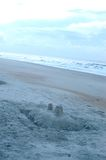 άμμος κάστρων Στοκ Φωτογραφίες