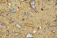 Άμμος και αμμοχάλικο Στοκ Εικόνες